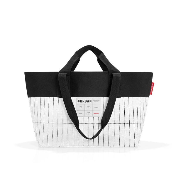 reisenthel #urban bag new york black & white. Hand bag