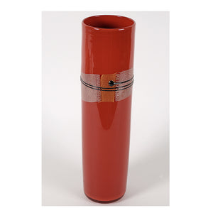 Pinzette Glass- Obi Cylinder Vase, Medium