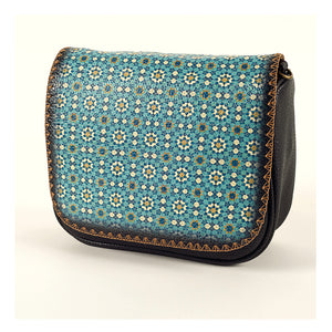 Crossbody Bag-GRAY BLUE
