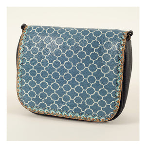 Mlavi Studio - Cross Body Bag-GRAY BLUE
