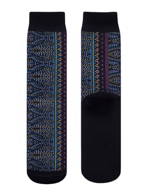 Juma- Socks-BLACK PATTERN