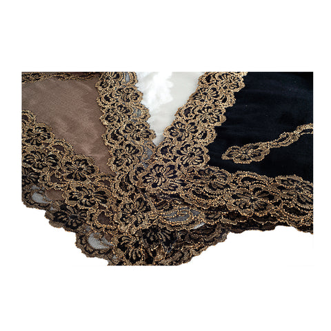 Ruhania - Shawl with Lace