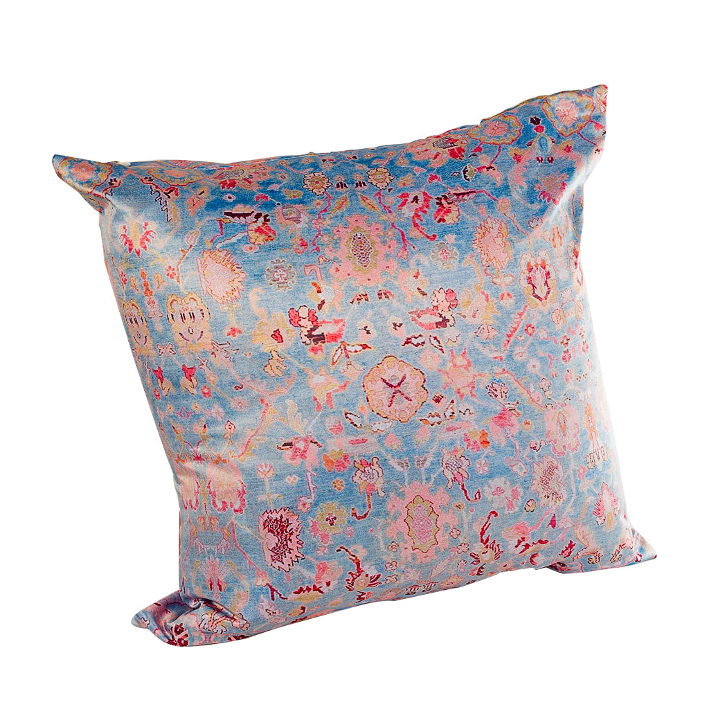 Poetic Pillow - Silk Satin Pillow