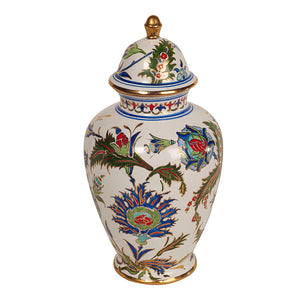 FSanat - Iznik Vase with Lid