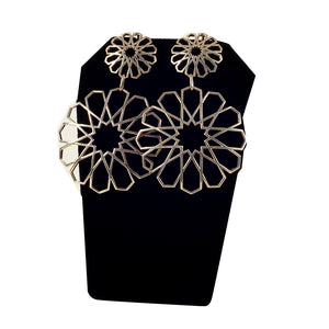 Bouchra - Silver Earrings