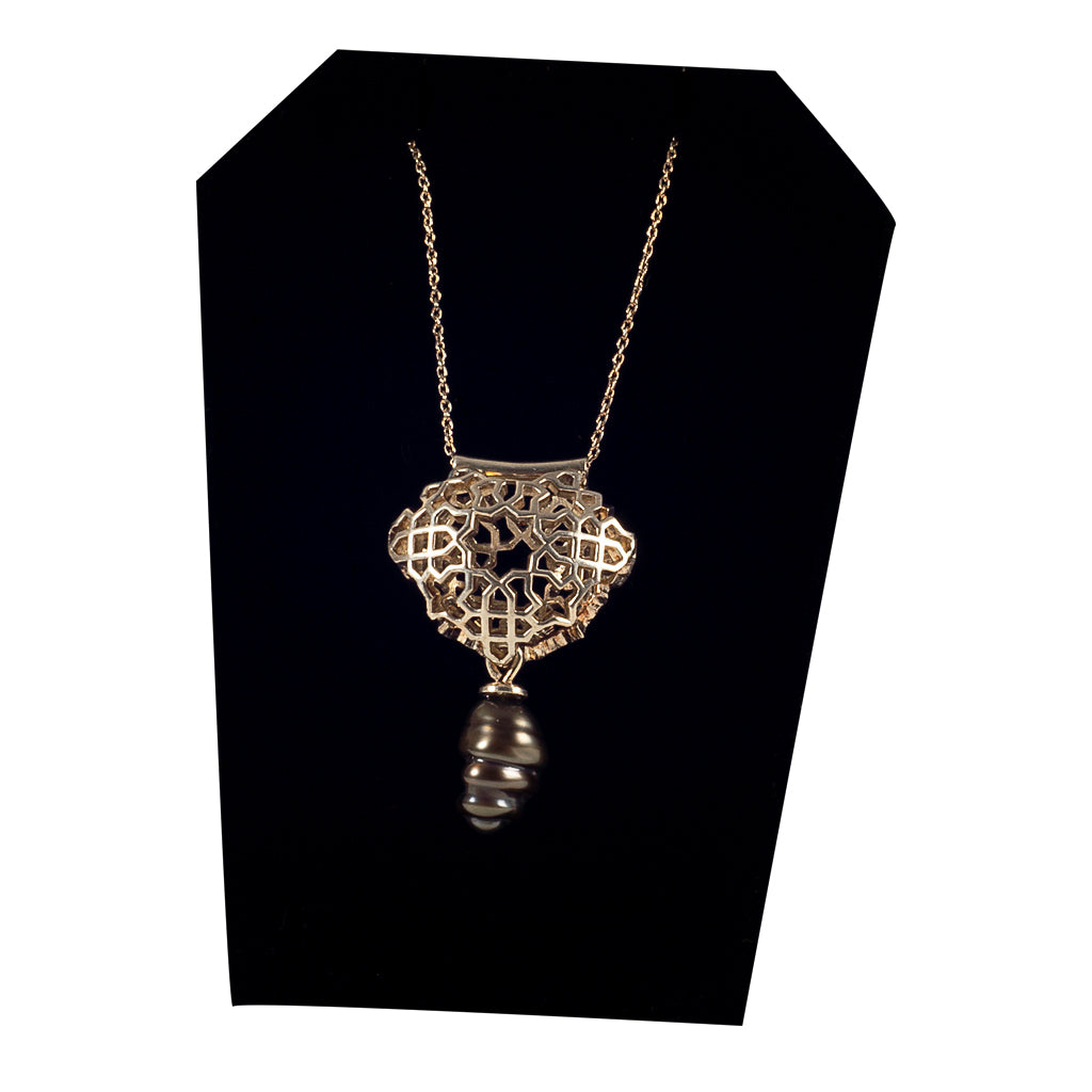 Bouchra-  Silver Necklace BJ20