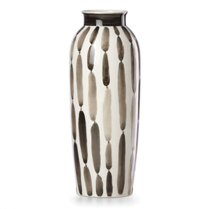 "11"" Large Brush Strokes Vase"