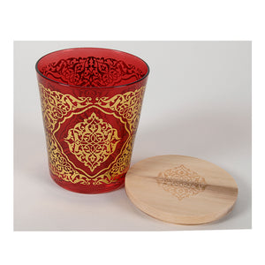 Lenox- Votive Holder-Red