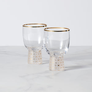 Alhambra All Purpose Glasses Set of 2 (Short)