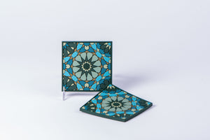 IMAGE D'ORIENT - SET OF 2 COASTERS - VARIOUS PATTERNS