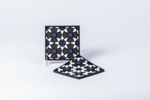 Images d'Orient-SET OF 2 COASTERS - VARIOUS PATTERNS