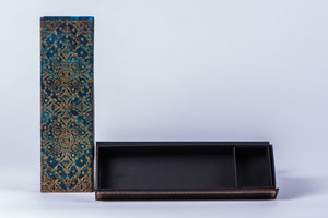 PAPERBLANKS - WRITING UTENSIL CASE - AZURE