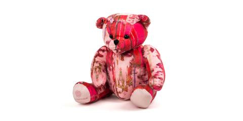 JUMA PATTERNED TEDDY BEARS - VARIOUS COLOURS