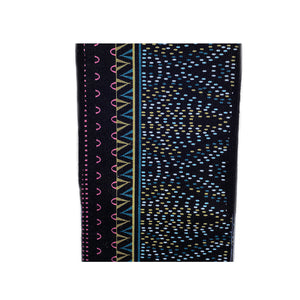 Juma-Black blue/trees socks