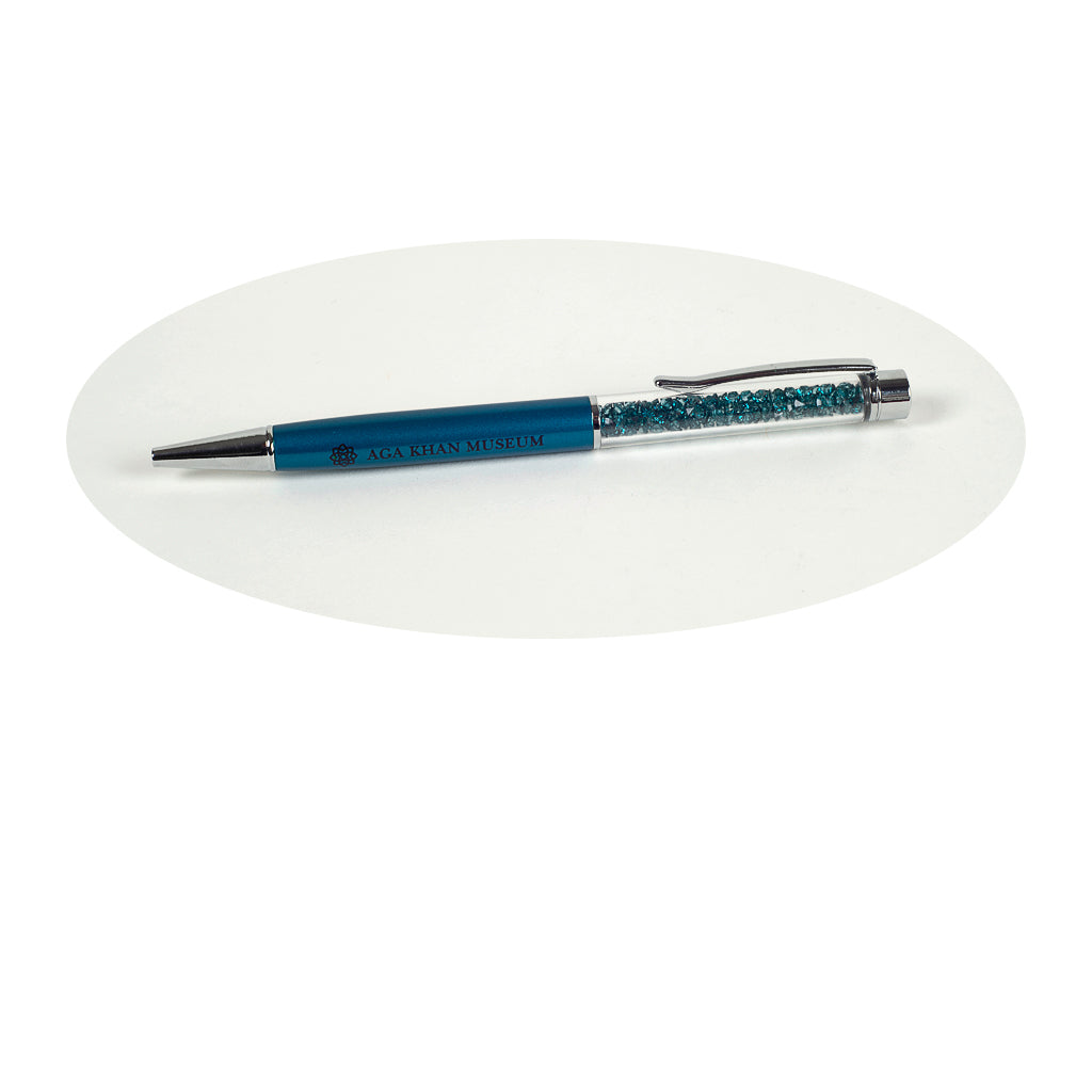 Aga Khan Museum - Crystal Pen (Blue)