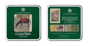 Aga Khan Museum coaster set-Story of Haftvad