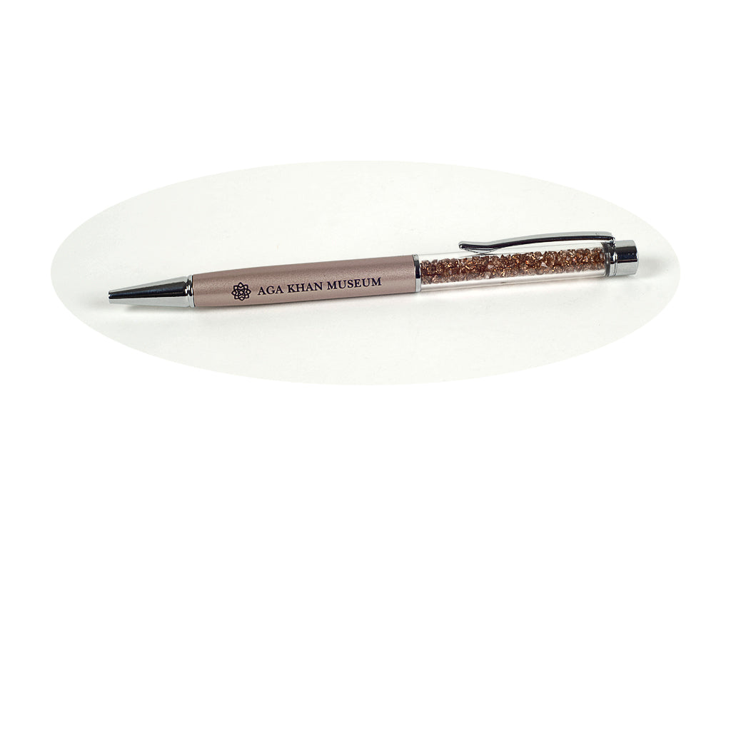 Aga Khan Museum - Crystal Pen (Golden)