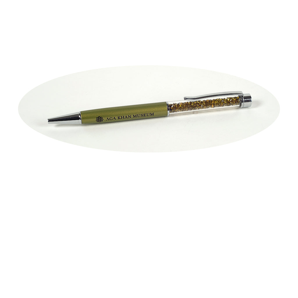 Aga Khan Museum - Crystal Pen (Green)