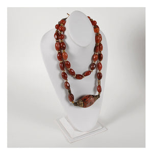 Maureen Jones-Nepalese Coral & Brass