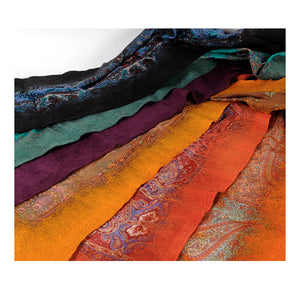 Keche- Felt and Silk Scarf