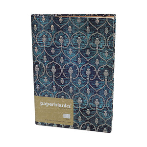 Hartley Marks- Hardcover journal blue velvet