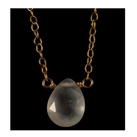 Azki- Small pendant - Moonstone