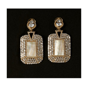 22kt Meena Jewellers Visions of Mughal India Earrings
