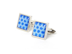 AGA KHAN MUSEUM CUFFLINKS - Blue Star Motif