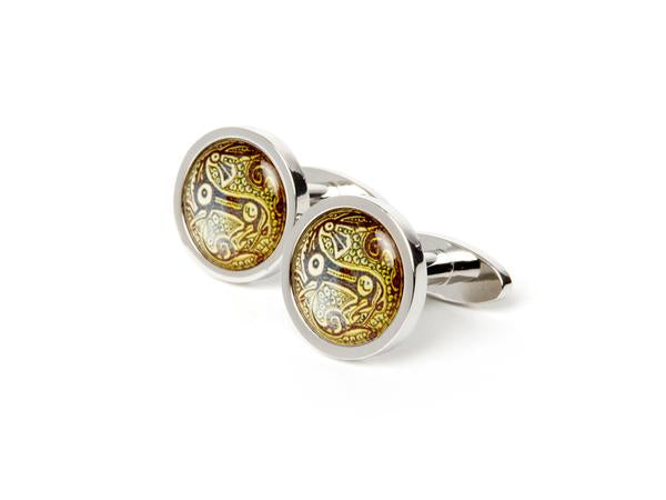 AGA KHAN MUSEUM CUFFLINKS - Animal Motif