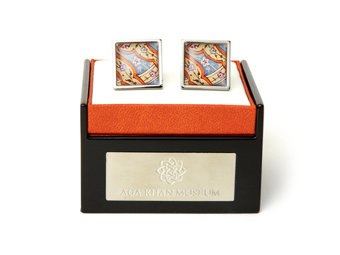 AGA KHAN MUSEUM CUFFLINKS – COURT OF SAM