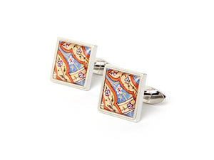 AGA KHAN MUSEUM CUFFLINKS -Court of Sam