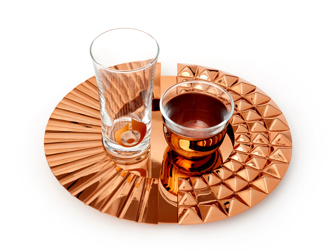 ANATOLI DROPLET COFFEE SERVING SET