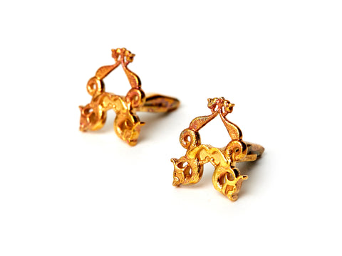 ANATOLI SEAL OF DEWAN CUFFLINKS – GOLD