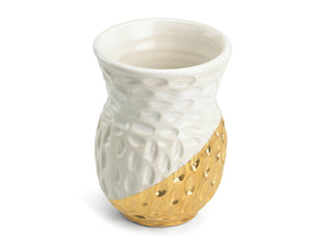 Bud Vase-Gold and Platinum