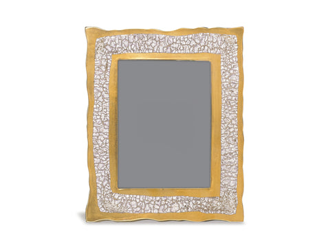 "GOLD FRAME – 5"" X 7"" – MARBLED"