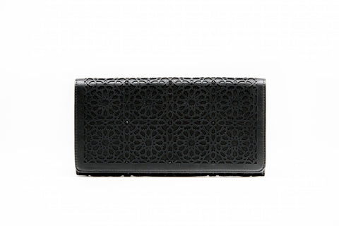 LALLA ALIA CLUTCH - BLACK