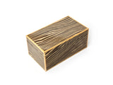 LIGHT LACQUERED WOOD STORAGE BOX