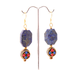 Farheen Ali Collection: Lapis Earrings