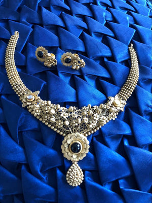 Meena Jewelry- Gold set