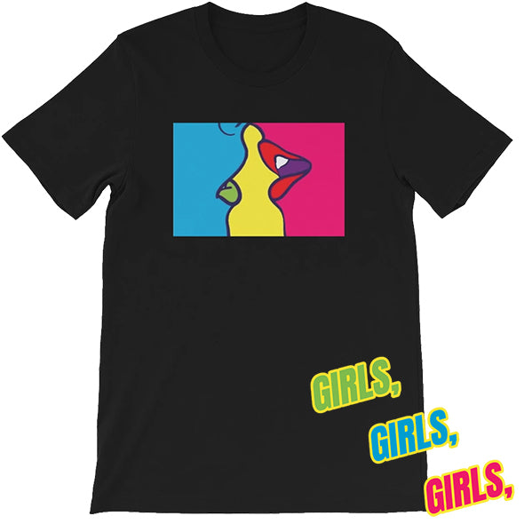 Girls,Girls,Girls T-Shirt