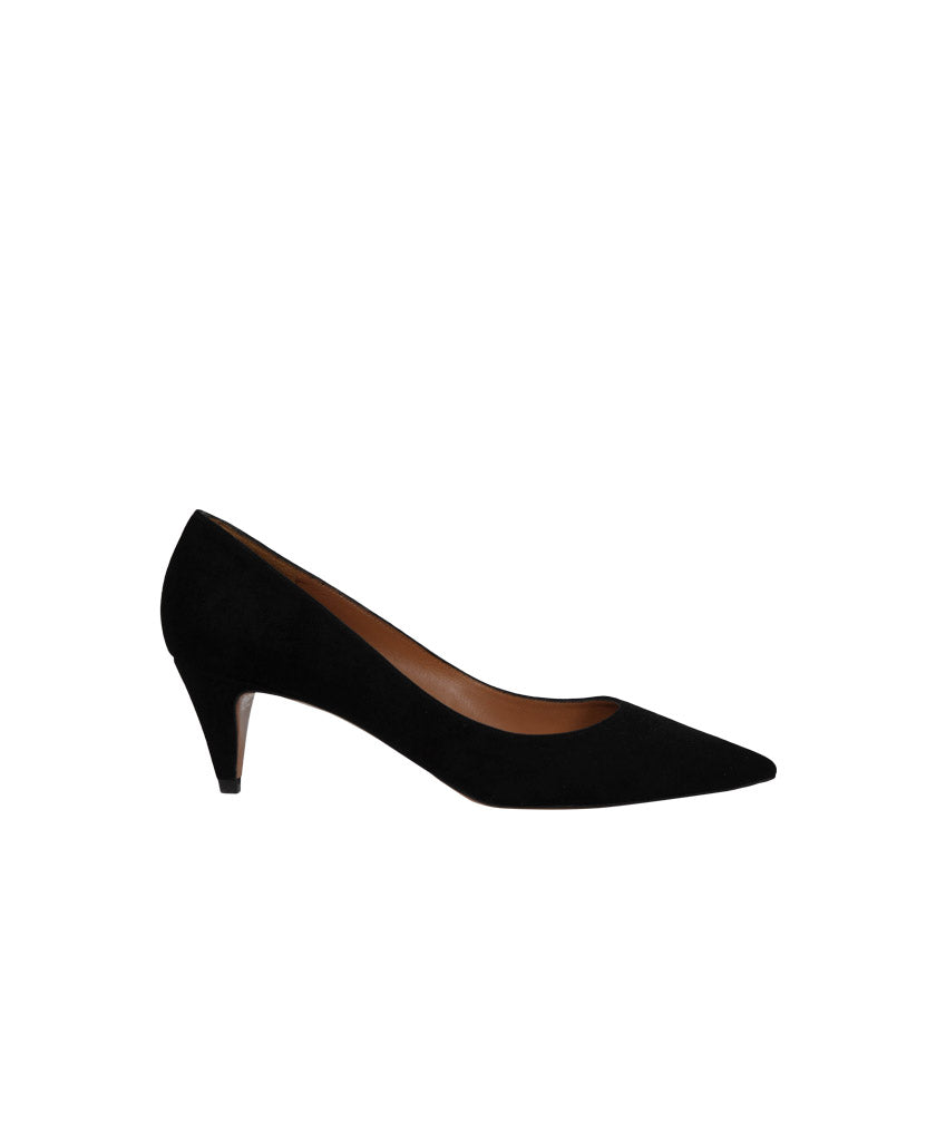 PURA LOPEZ Low heel pumps black - saraclausin