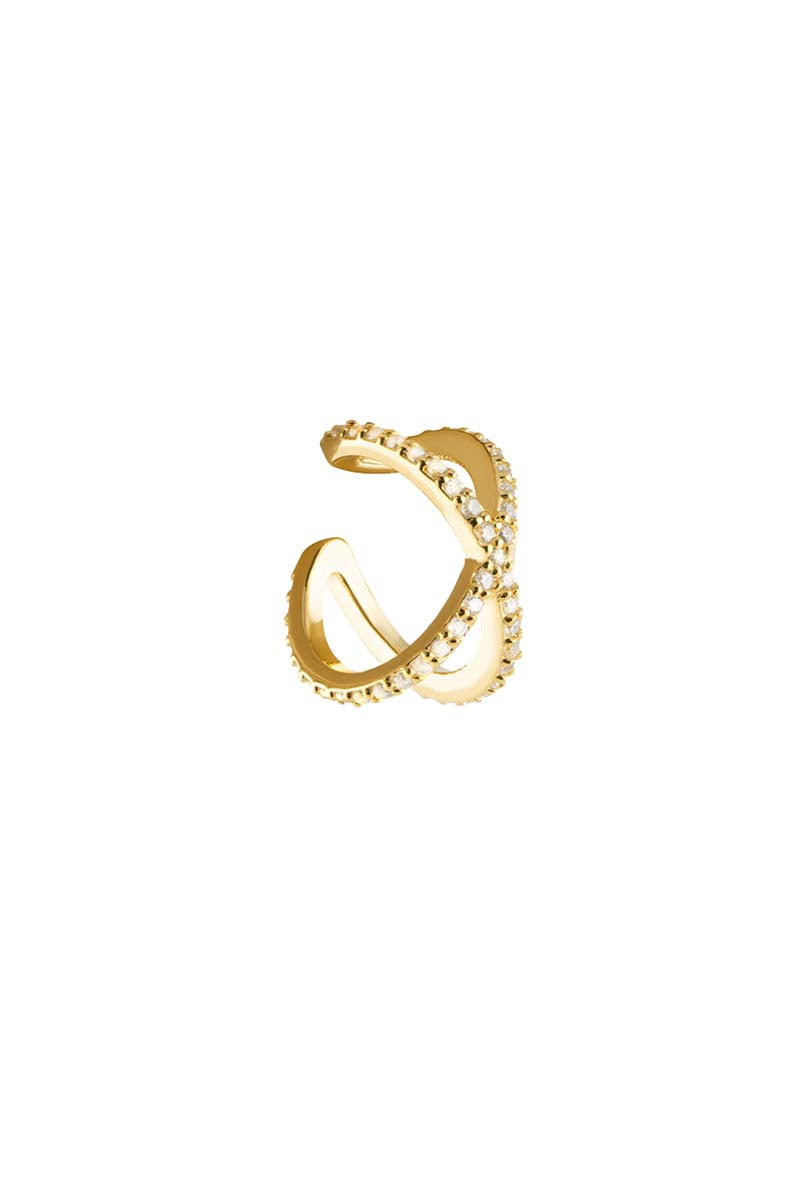 CBYC Cross Ear Cuff