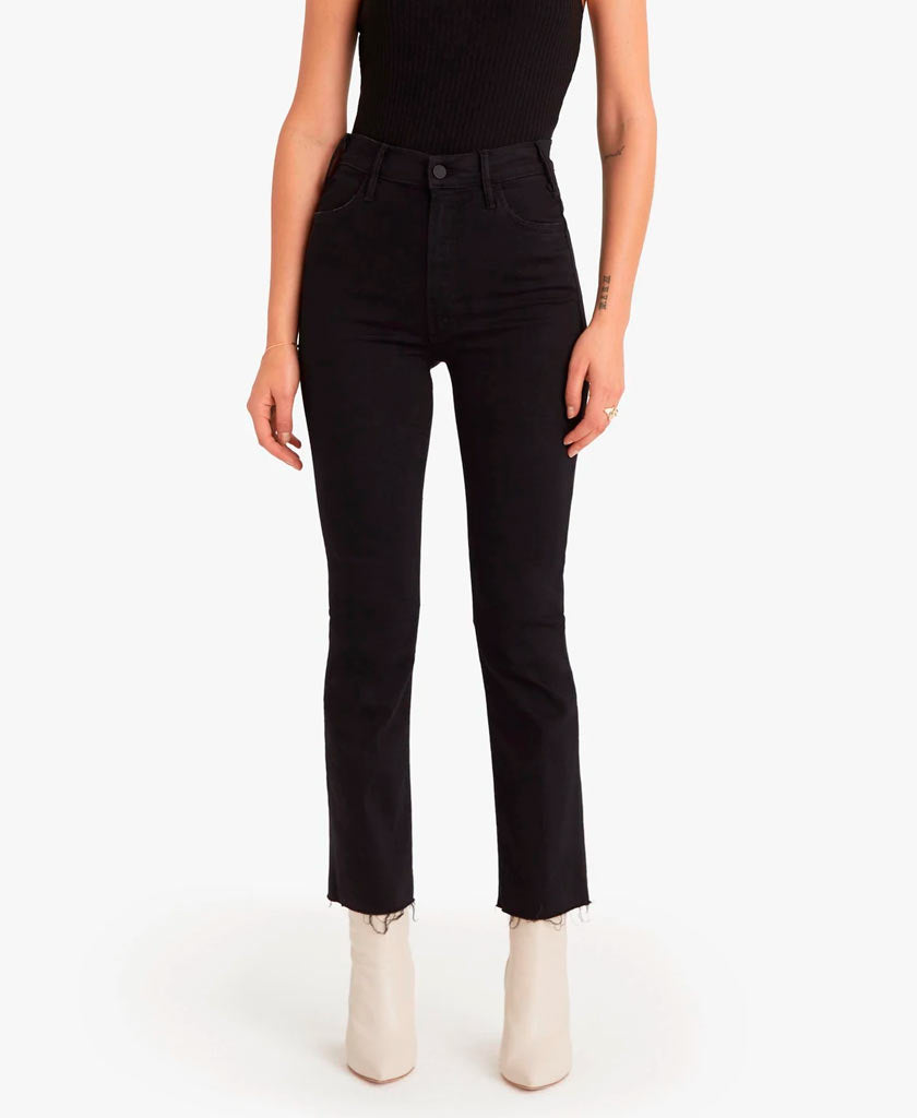 MOTHER  The Hustler Ankle Fray Jeans - saraclausin