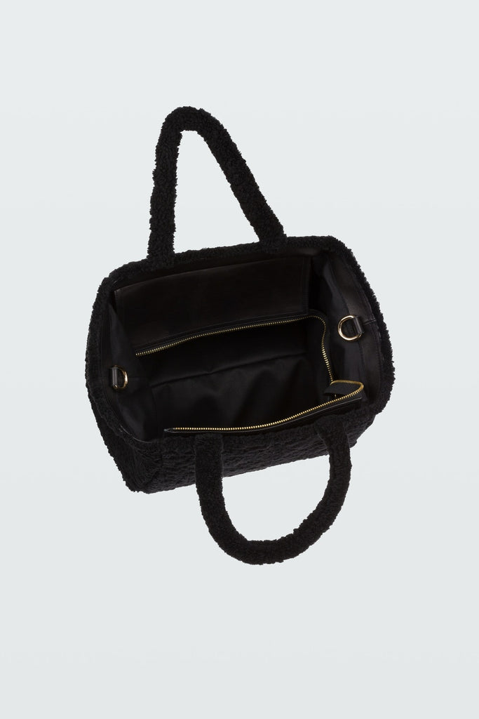 DOROTHEE SCHUMACHER Wild Touch Shearling Bag