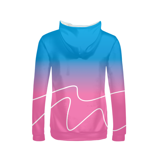 Totally Miami: Wave Ladies All-Over Hoodie | G.O.A.T. GRAPHICS