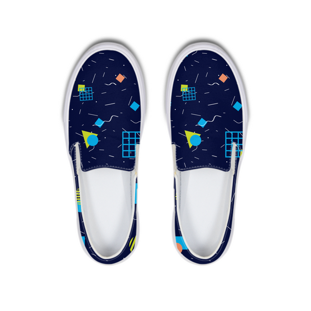 Splash That Geo: Ocean Reef Boat Shoes | G.O.A.T. GRAPHICS