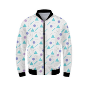 Table Confetti Mens Bomber Jacket | G.O.A.T. GRAPHICS