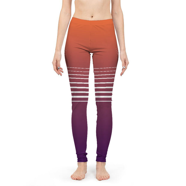 Totally Miami: Sunset Womens Leggings | G.O.A.T. GRAPHICS