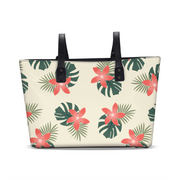 Aloha Breeze Cream Tote | G.O.A.T. GRAPHICS