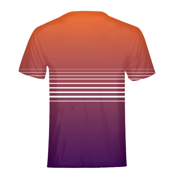 Totally Miami: Sunset Mens All-Over Tee | G.O.A.T. GRAPHICS
